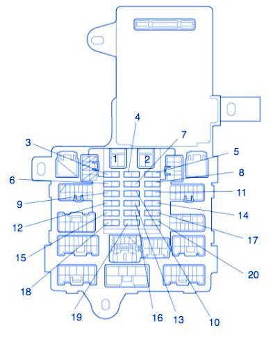 Lexus Fuse Box Block Circuit Breaker Diagram