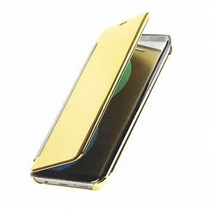 Handyhülle Galaxy S6 : galaxy s6 handyh lle in gold mit intelligenter display ~ Jslefanu.com Haus und Dekorationen