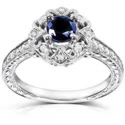 band engagement rings 1 carat antique sapphire and engagement ring jewelocean