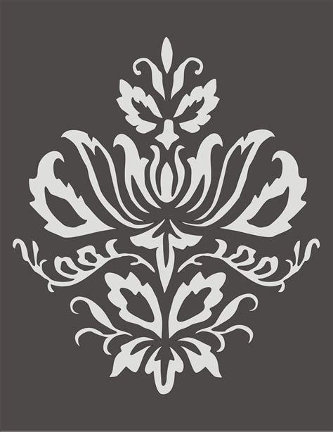 free printable flower stencils for walls 642 best stencil трафарет images on stencil