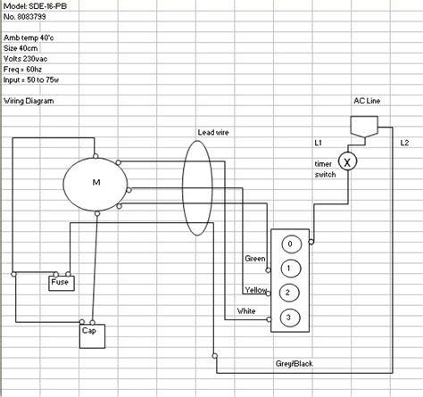 Electrical Fan Diagram by Edmat Electric Fan Wiring Diagram