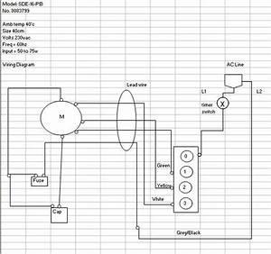 Ceiling Fan Wiring Diagrams Series