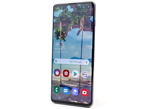 samsung galaxy s10 smartphone review notebookcheck net reviews