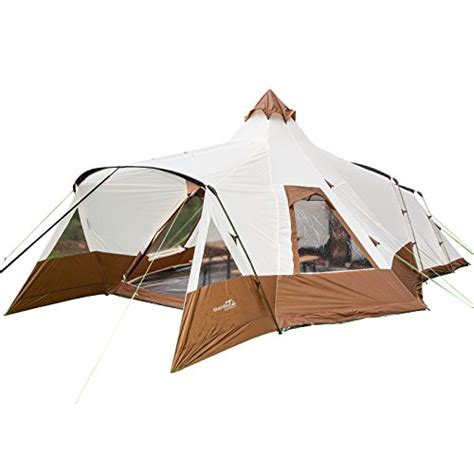 reparation de toile de tente roulotte skandika navaho teepee 5 person family cing tents with fully sewn in groundsheet 2