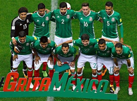 mexico soccer team roster players  squad russia world
