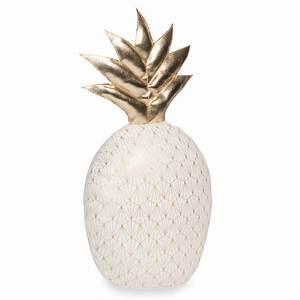 Objet Deco Ananas : cale porte ananas cru et dor ananas maisons du monde ~ Teatrodelosmanantiales.com Idées de Décoration
