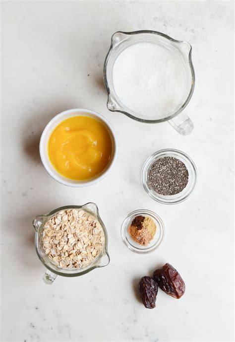 Pumpkin Spice Overnight Oats Hello Wholefoods