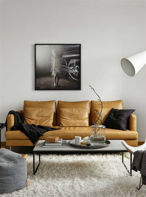 living room inspiration leather sofa