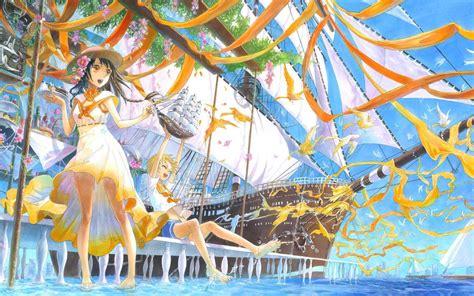 Summer Anime Wallpaper - summer time wallpaper 144607 hd wallpapers