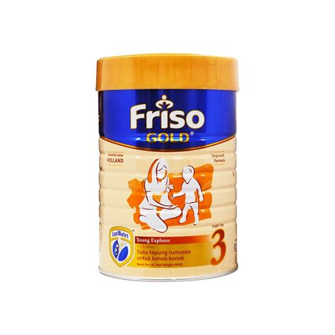 Friso Gold 3 900g friso gold stage 3 milk powder 900g 1 3yrs locnutri