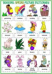 Seasons Esl Printable Worksheets And Exercises