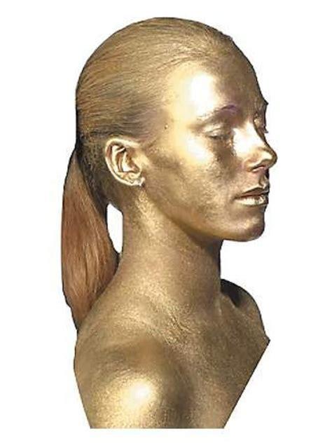 Metallic Silver Or Gold Body Paint Makeup By Graftobian Ebay