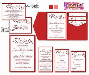 30 best holiday weddings images on pinterest With wedding invitation insert templates free download