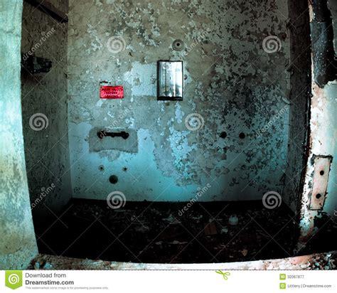 shower  abandoned mental hospital stock image image