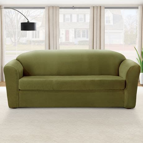 Sure Fit Sofa Covers Walmart by Sure Fit Eastwood Stretch Sofa Slipcover Walmart Ca