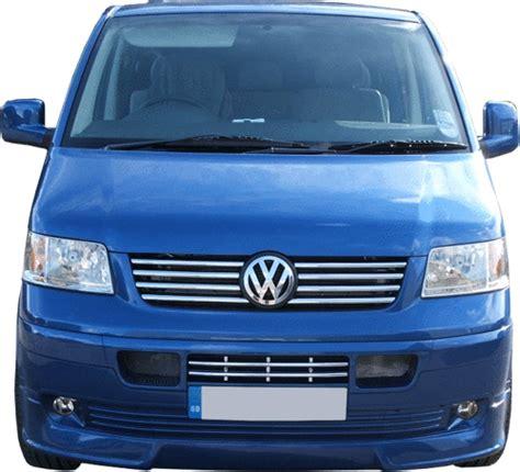 vanstyle stainless steel radiator grille set vw  transporter vanstyle