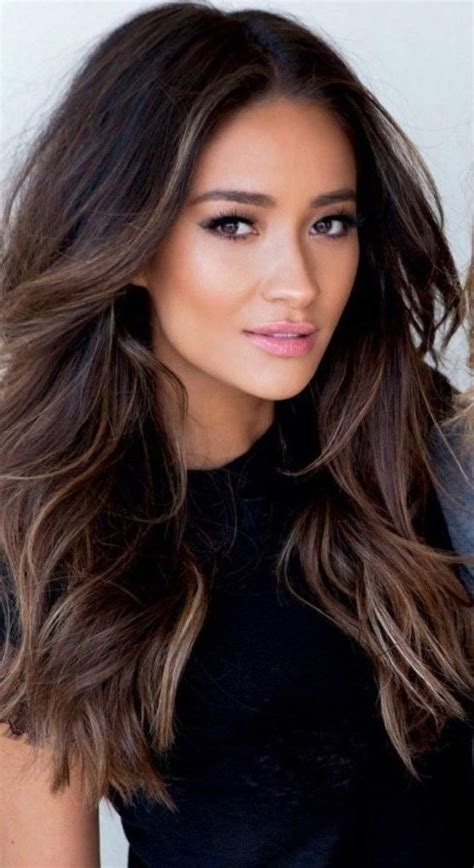 Black Brown Hair by Gallery Of Highlights For Brown Hair 2017 Minimalist