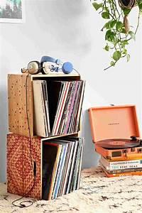 Idée De Rangement : rangement vinyle fonctionnel et l gant en 35 id es inspirantes ~ Preciouscoupons.com Idées de Décoration