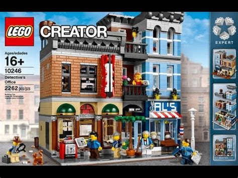Build  Lego ® Creator 10246 Detective's Office Youtube