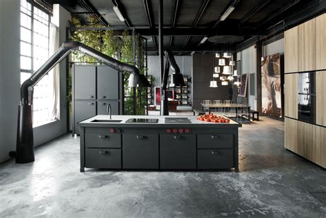 industrial kitchen island 32 industrial style kitchens that will you fall in