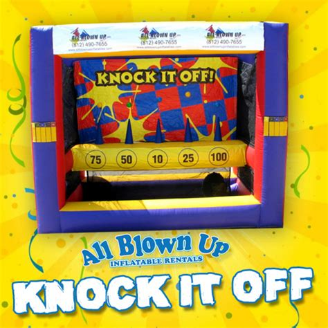 big fan knock off knock it off all blown up inflatables