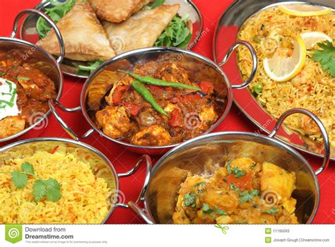 curry cuisine indian curry food selection stock image image 11195093