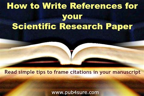 How To Write References In Your Research Paper?