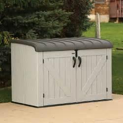 lifetime horizontal storage box sam s club
