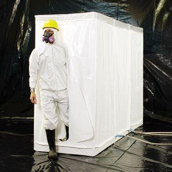 disposable decontamination shower airlock