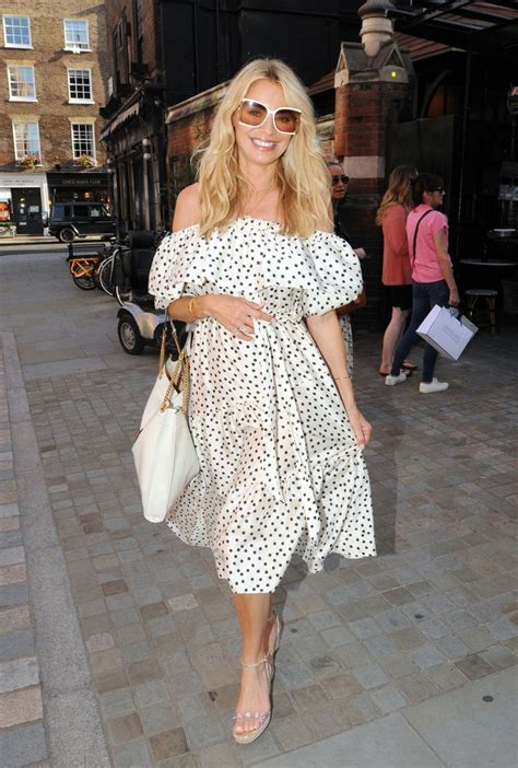 Tess Daly Out for Lunch at Chiltern Firehouse in London 20 ...