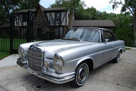 Looking for a classic mercedes benz w111? Sell used 1967 Mercedes Benz 250SE Coupe W111 DB180/040 Silver Black 4- SPEED MANUAL EURO! in ...