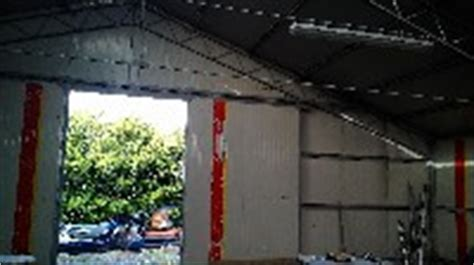 capannone smontabile usato capannone in ferro zincato struttura smontabile