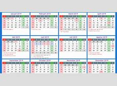 Kalender 2019 indonesia 3 Download 2019 Calendar