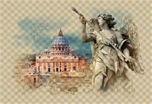 Le Forum Romain à Rome, Italie, Croquis D'aquarelle ...