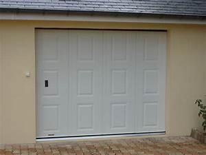 portes de garage le mans sarthe au serrurier lehoux With porte garage laterale motorisée