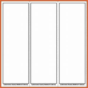 free bookmark templates bid proposal example With book marker template