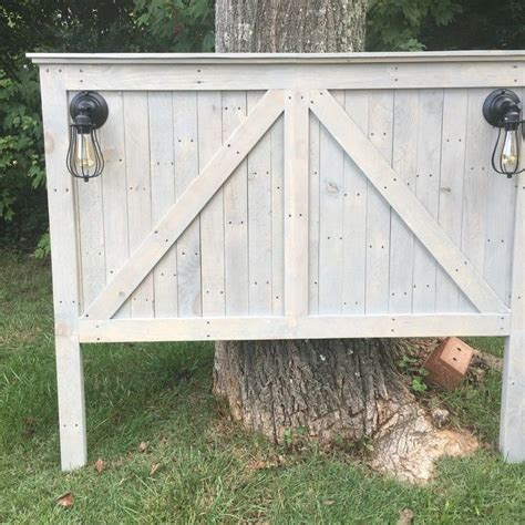 farmhouse queen size headboard furniture makeovers