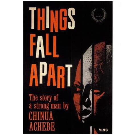 Things Fall Appart by Things Fall Apart Poster The Literary Gift Company