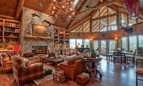 deer antler chandelier amazing decor ideas luxury mountain log homes luxury log
