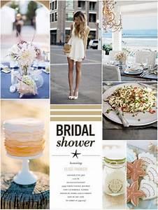 Inspiration Board: Seaside Bridal Shower - TrueBlu ...