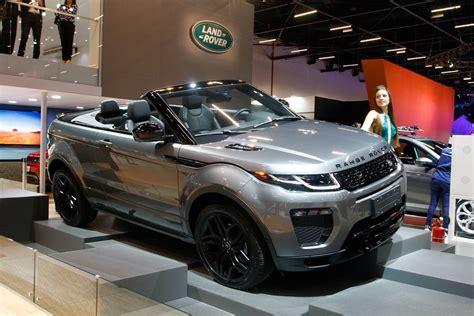 land rover evoque conversivel ja  vendido  brasil por