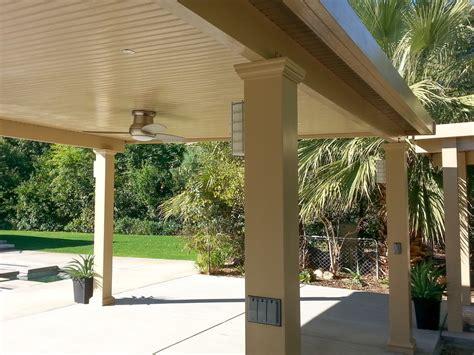 solid patio cover ideas solid roof patio covers indio la quinta palm desert rancho mirage valley patios custom