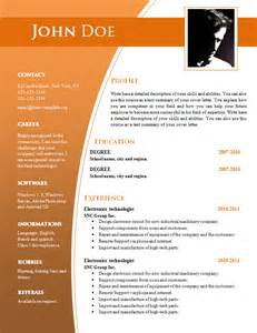 simple resume format download free cv templates for word doc 632 638 free cv template dot org