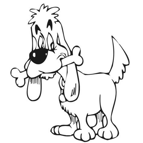 disegno  cagnolino  osso da colorare  bambini