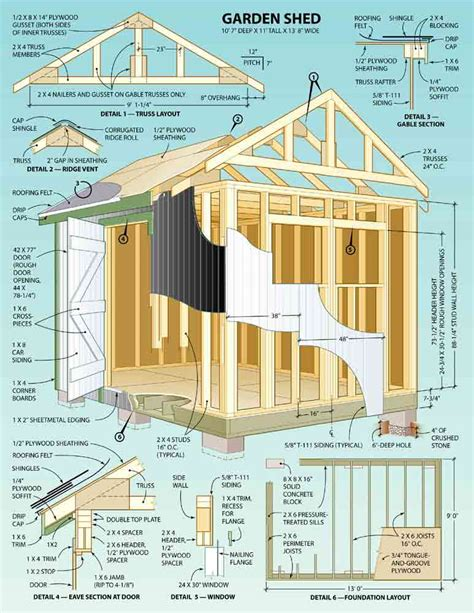 shed layout plans woodwork storage sheds building plans pdf plans
