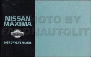1995 Nissan Maxima Repair Shop Manual Original
