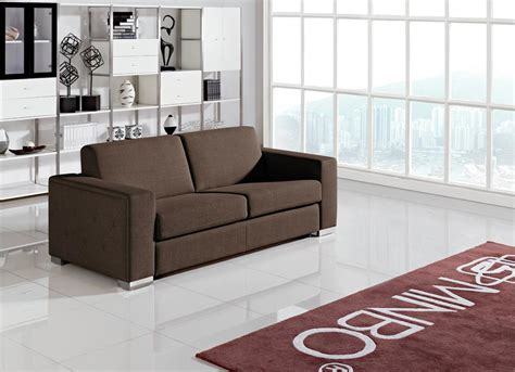 Brown And Sofa by Contemporary Brown Fabric Sofa Bed Jersey New Jersey Vmin