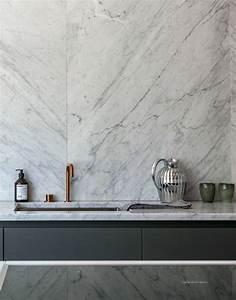 Carrelage Mural Pour Cuisine : le carrelage en marbre en 42 photos ~ Dailycaller-alerts.com Idées de Décoration