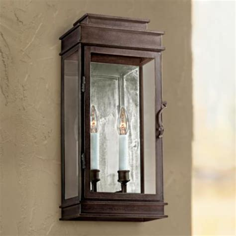 vintage collection 20 quot high bronze outdoor wall light