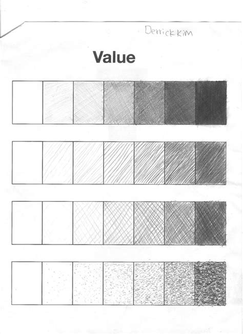15 best images of value shading worksheet shading value